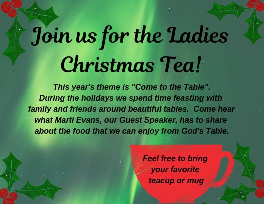 Ladies' Christmas Tea 2018