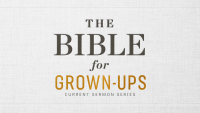 The Bible for Grownups